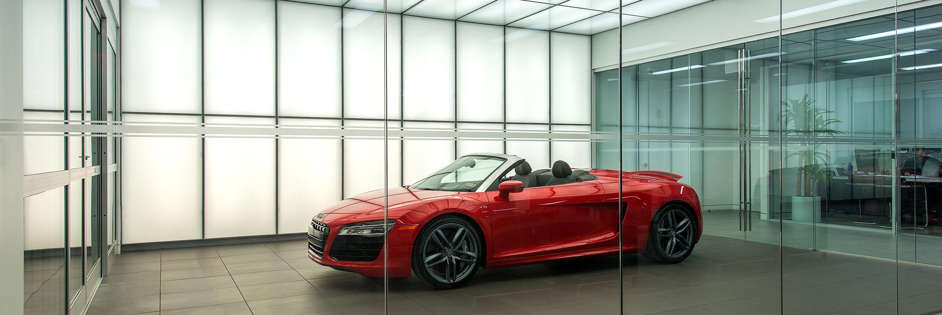 Audi Dealership, Houston TX, USA
